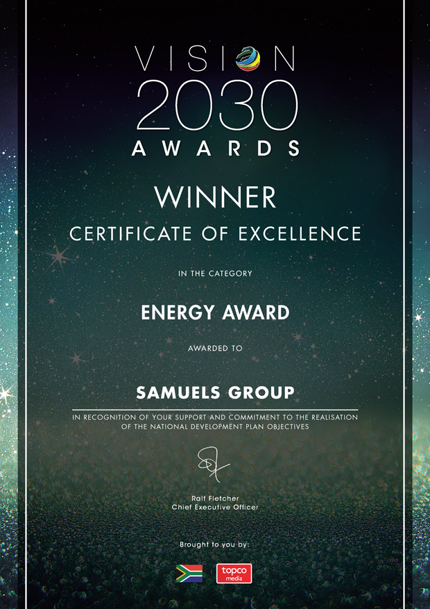 Eye-Fuel - Vision 2030 Energy Award 2019